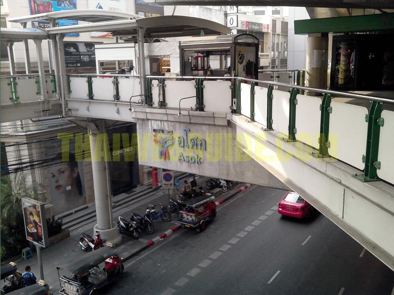 asoke bts station