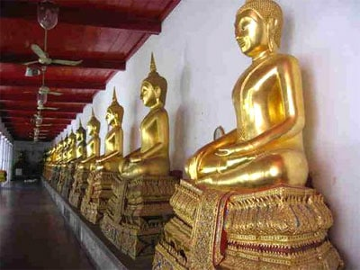 Buddha At Wat Mahathat Yuwarajarangsarit Rajaworamahavihara