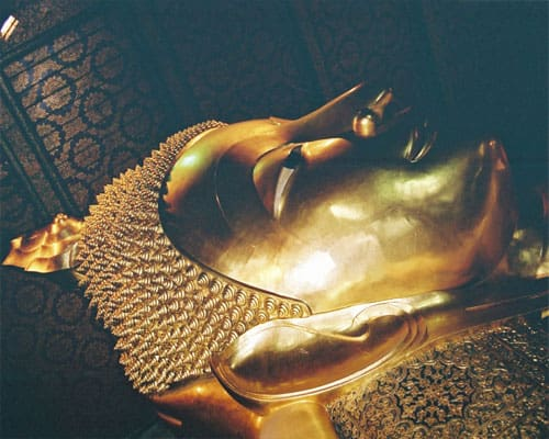 The Reclining Buddha At Wat Pho - Bangkok Thailand