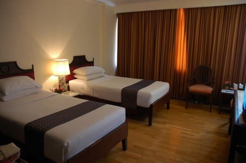 interior view of windsor suites deluxe room